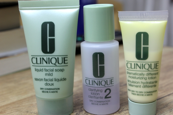 Clinique 3-Step Skin Care Product Review
