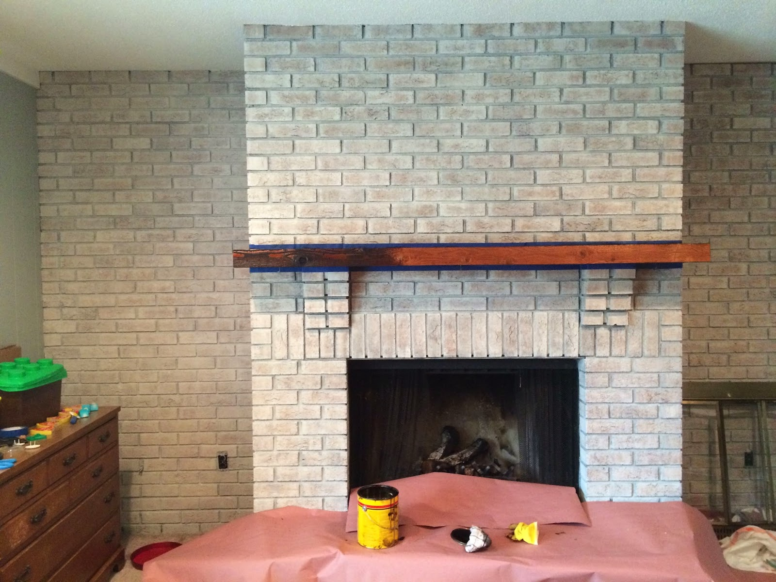 Walking with dancers the family room s fireplace update - I Wasn T Sure About It All Until It Was Done I Was Still Super Nervous All Said And Done I Think It Was An Awesome Choice