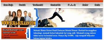 Buka-bukaan.com Bisnis Online Sederhana Hasil Dahsyat Modal Hemat