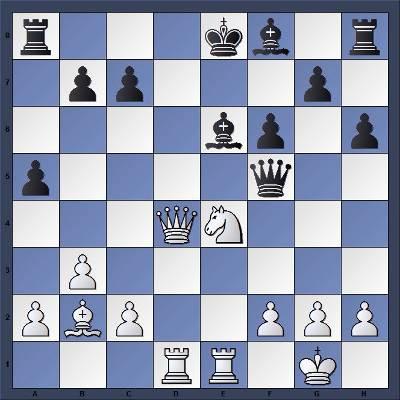 Les Blancs jouent et matent en 5 coups - Niveau Fort