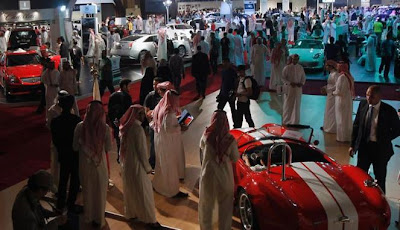 Pameran Mobil Mewah di Arab Saudi
