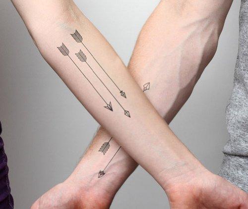 Tatuajes de flechas  ideas y su significado  Belagoria  la web