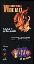 Cartel VI Jornadas de Jazz UPM