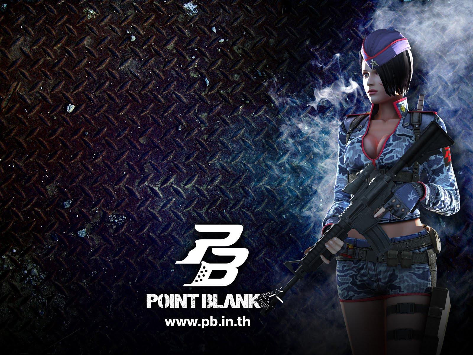 PB - Point Blank Wallpaper Creative poster HD   Zeromin0