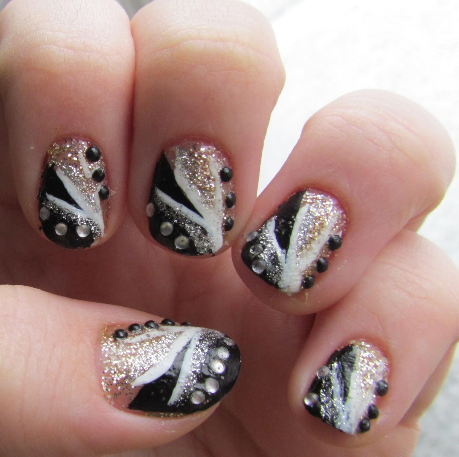 Modern White Stuff On Nails Ideas - Nail Art Ideas - morihati.com