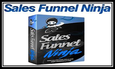 تحميل برنامج Sales Funnel Ninja  لإنشاء landing page