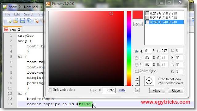 Free Color Picker app Windows Pc