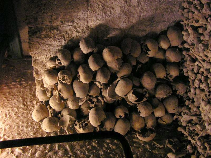The Medieval Ossuary in Wamba is in the Church of Santa Maria and contains bones from hundreds of villagers who died between the 12th and 18th centuries.