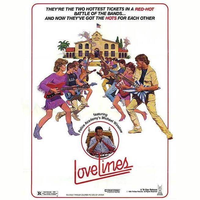 LOVELINES Soundtrack [unreleased] (1984)