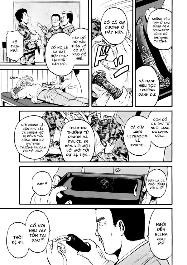 Gate - Jietai Kare no Chi nite, Kaku Tatakeri Chap 46 page 40 Congtruyen24h