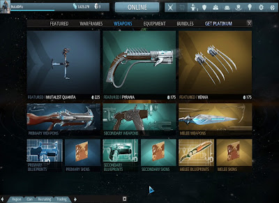 Warframe - Weapons Market