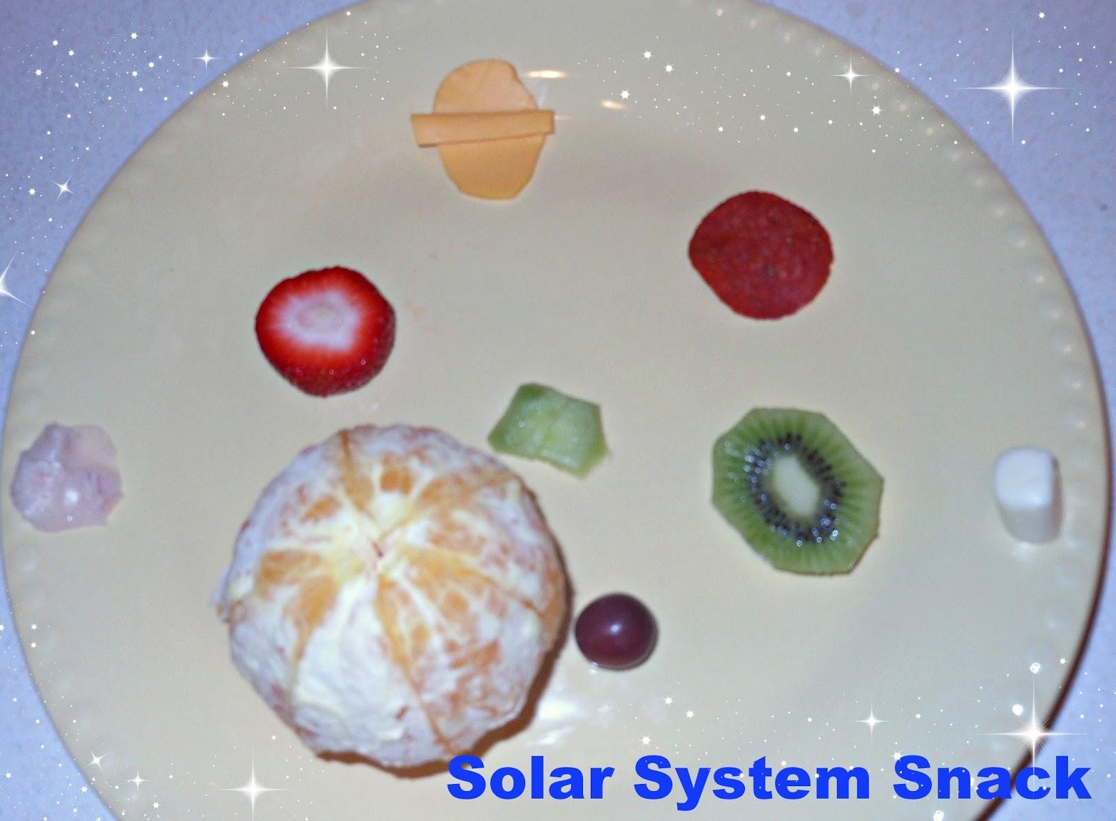 solar system food ideas - photo #4