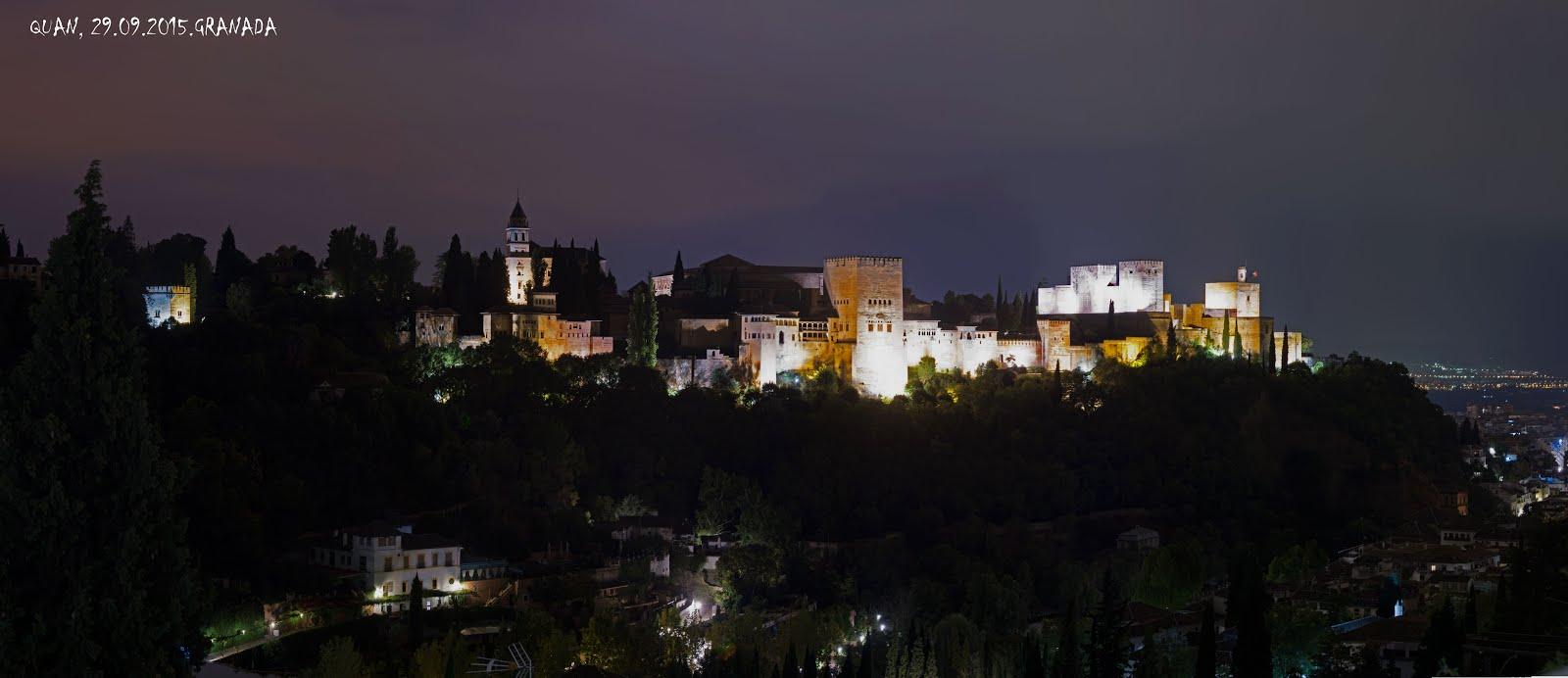 Granada. Nochebuena 2014