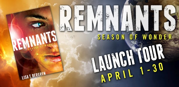 http://lisatawnbergren.com/2014/03/remnants-launch-tour-in-april/