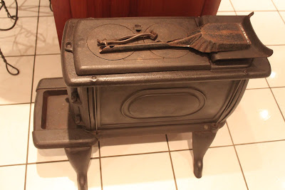 This Hci Wood Burning Cast Iron Stove Is Kept In Dad S Kitchen As Well Was Used To Keep You Nice And Toasty On A Cold Day