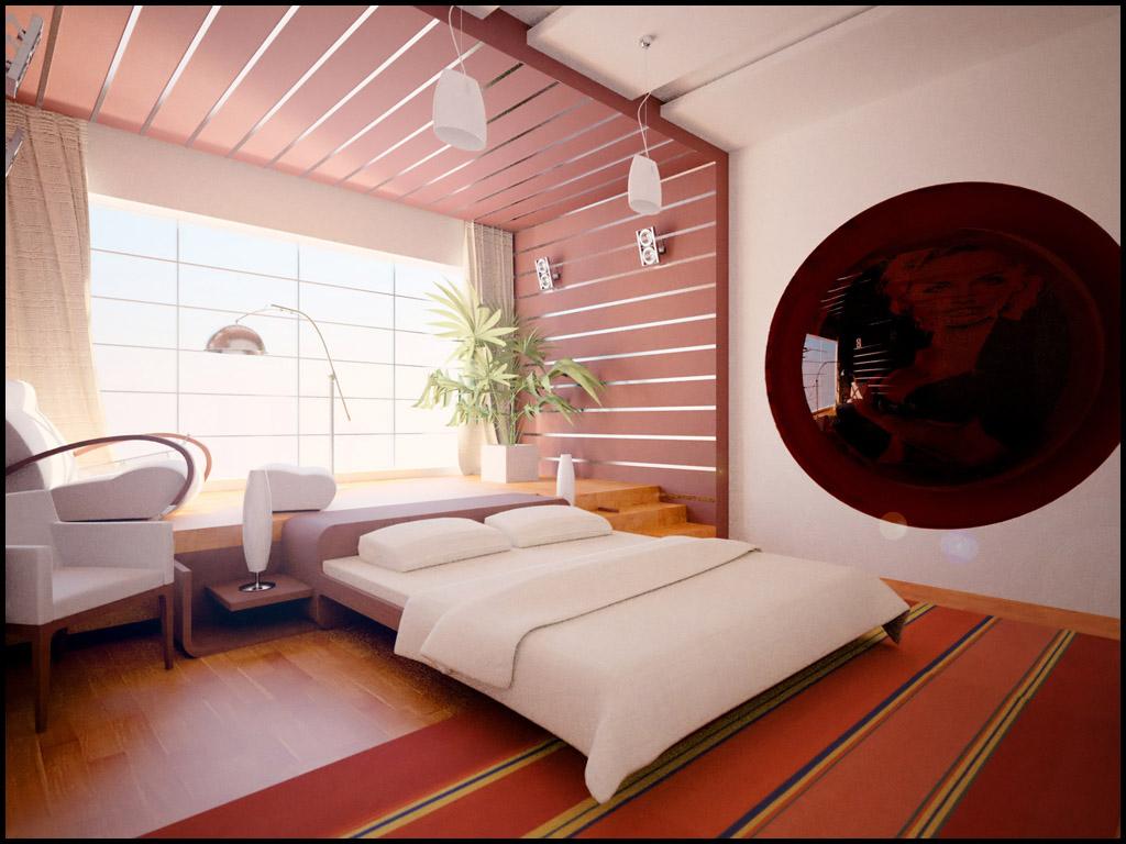Сексуальная спальня влюбленных