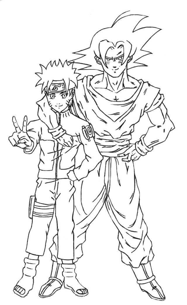 Blog MegaDiverso Naruto para colorear