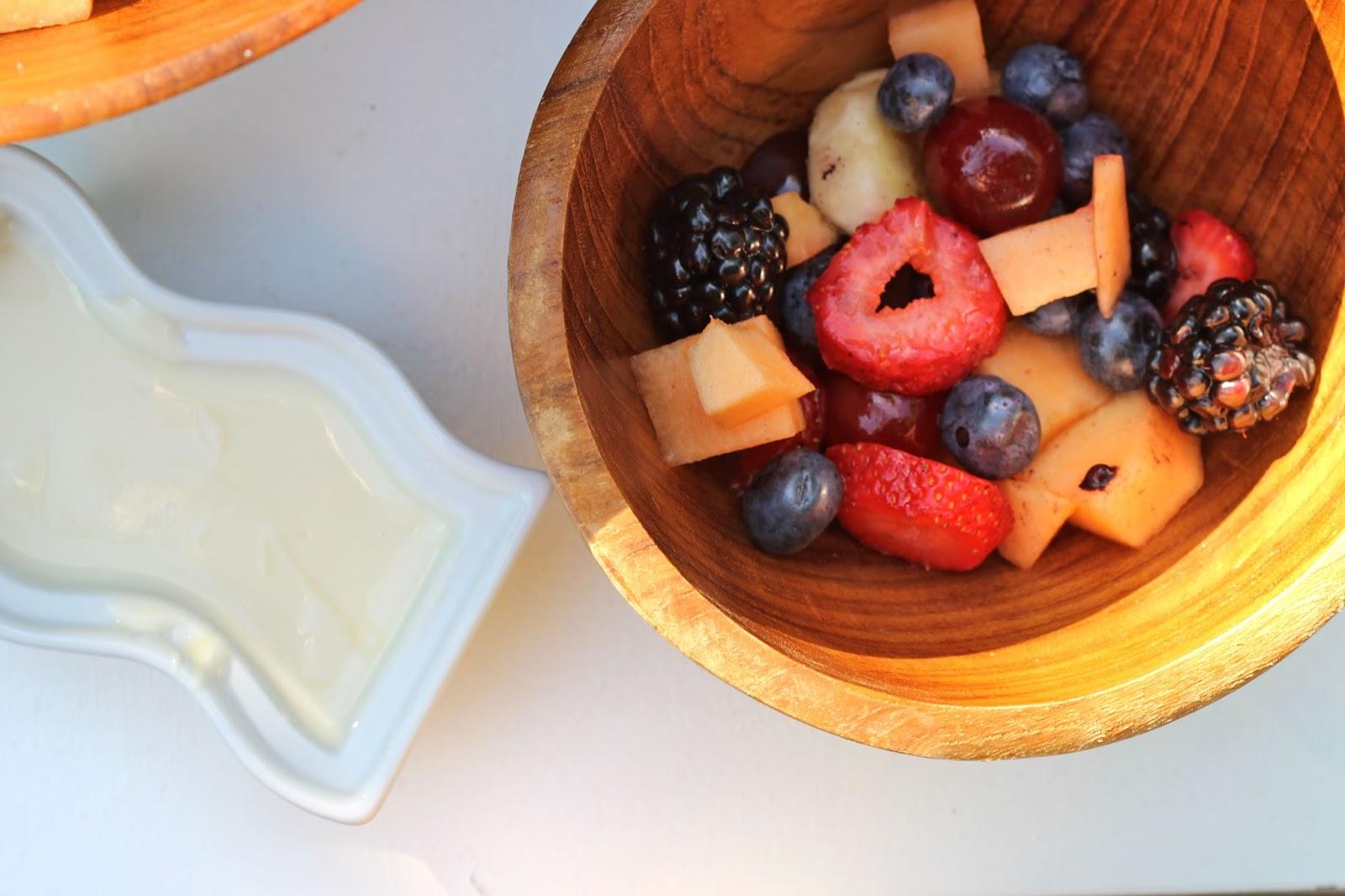 Summer Fruit Salad With Vanilla Honey Dressing Dina 39 S Days