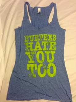 No Limits Sports Apparel Burpees Hate You Too Tank Top