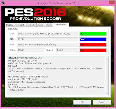 File Setting.exe PES 2016