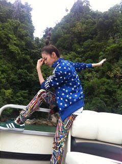 Foto Dara 2NE1 di Filipina 2