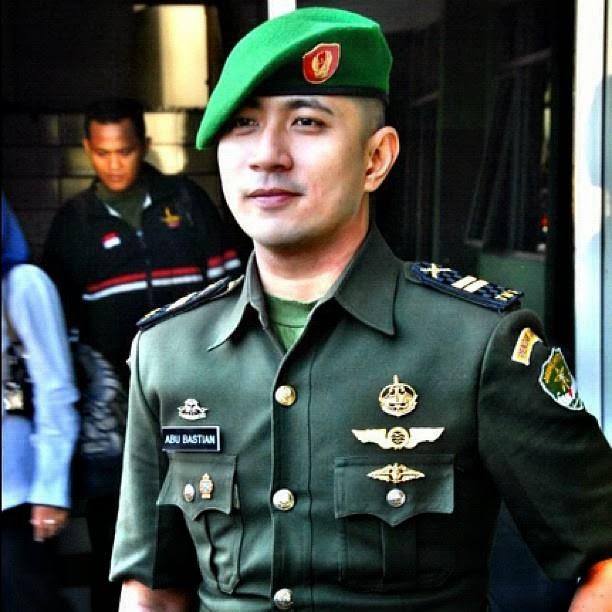 Tentara TNI Abu Bastian Cakep Tampan