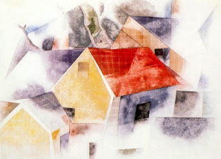 Cases de teulades vermelles (Charles Demuth)