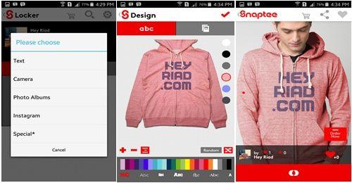 Desain Baju Android