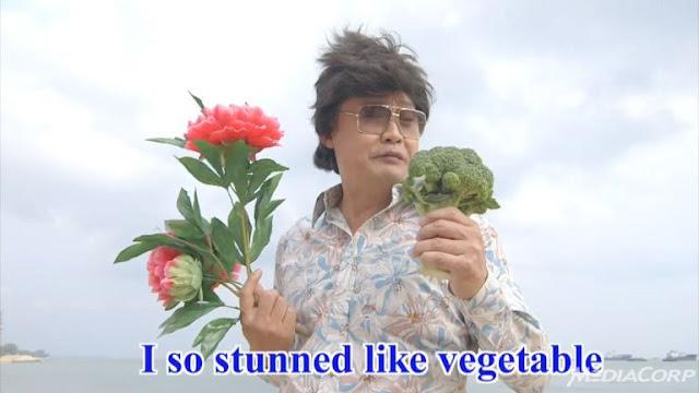 Chen Tian Wen Stunned like vegetable
