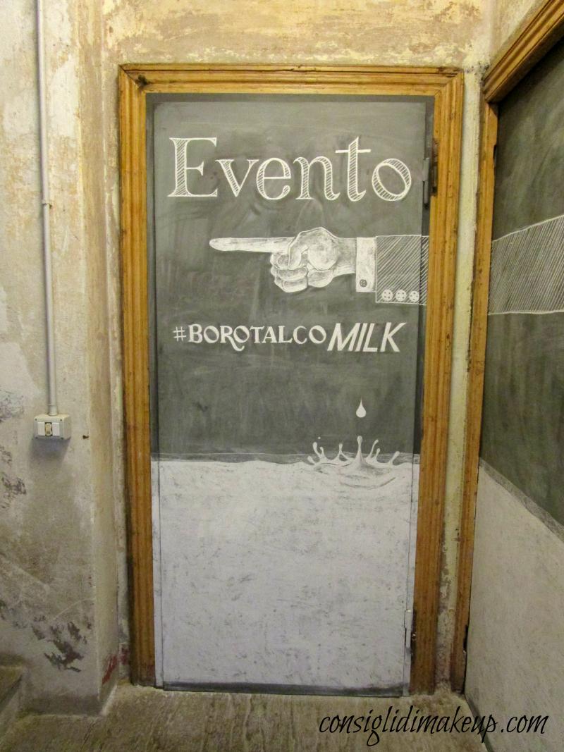 Evento presentazione Borotalco Milk