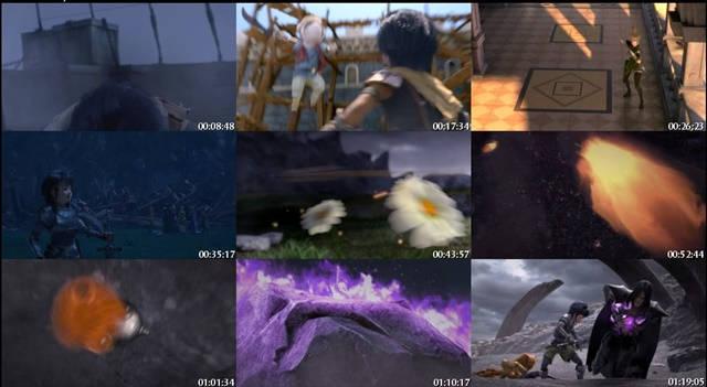 Dragon Nest Guerrero del Amanecer DVDRip Latino