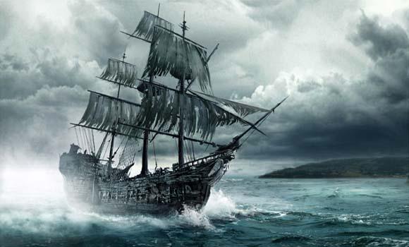 Fato e farsa caleuche o navio fantasma do folclore - Todo sobre barcos ...