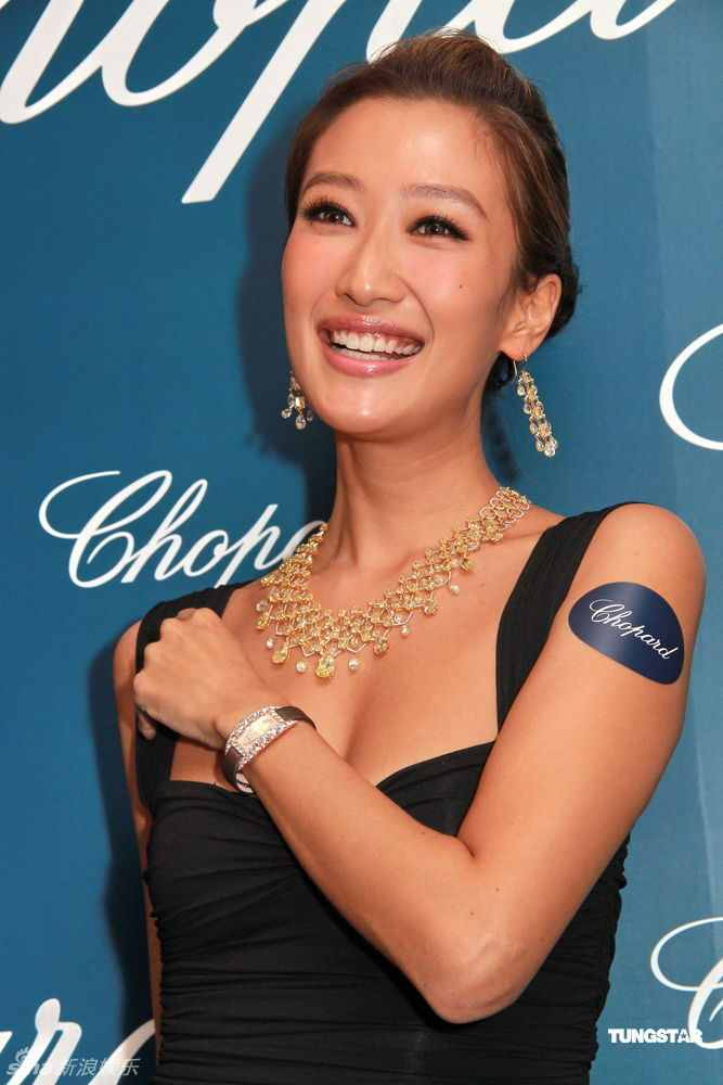 Jennifer Tse Photos at Chopard's jewelry Boutique Launch