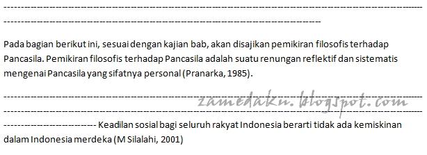 Perbedaan Daftar Acuan/Referensi dengan Daftar Pustaka   Zamedaku