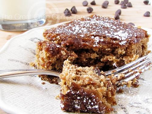 The Great Cake Company: Sunday Baked: Oatmeal Chocolate Chip Cake