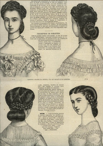 ladies of 1860s la modes illustree