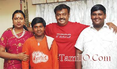 Vijaykanth Femily