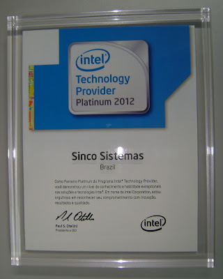 Intel Technology Provider Platinum 2012