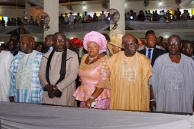 Photos ~ Tinubu, Buhari, Atiku, Others Storm Governor Okorocha's Daughter's Wedding