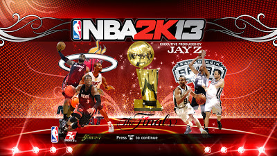NBA 2K13 Finals 2013 Miami against San Antonio