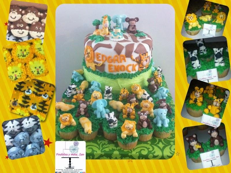 SAFARI CAKE & CUPCAKES