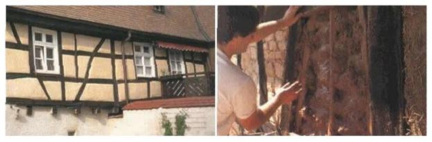 Ремонт и обновление фахверковых стен зданий