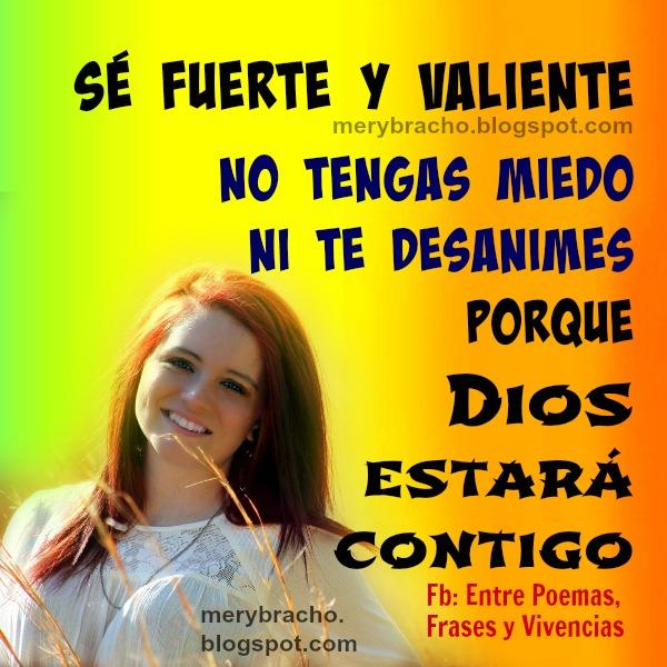 Palabras de ánimo para amigos, mensaje cristiano de aliento con versículo bíblico, cita en imagen para facebook