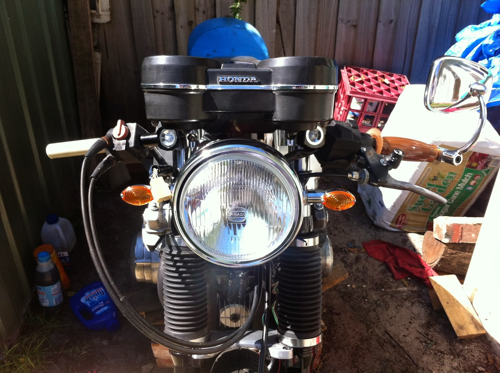 Sorting Out The Wiring On My Dohc Cb750f Cafe Racer 1981 Honda Cb750c Diagram Metamorphosis