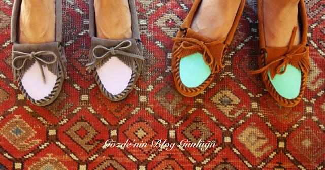 Kumaş Boyası ile Ayakkabı Boyama
