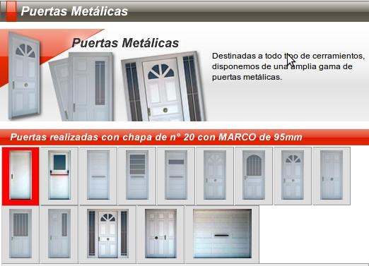 Nuevo santiago aberturas s r l nsa aberturas puertas - Catalogo puertas metalicas ...