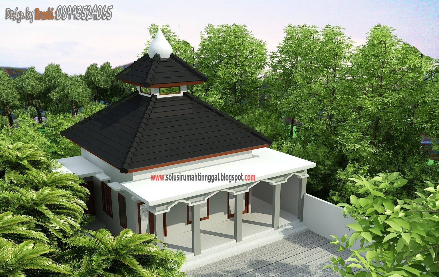 Desain Rumah Modern 7x7
