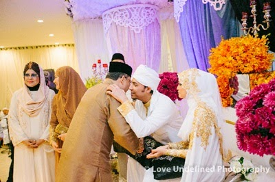 majlis resepsi Syamsul Yusof & Puteri Sarah