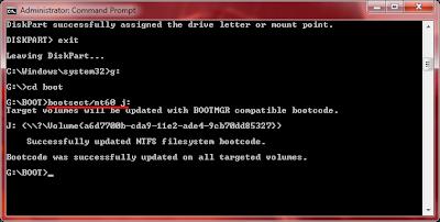 Cara Menginstal WIndows 7 Dengan Flashdisk yang Bootable