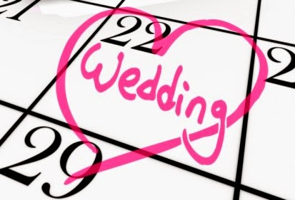 Wedding Date on Calender